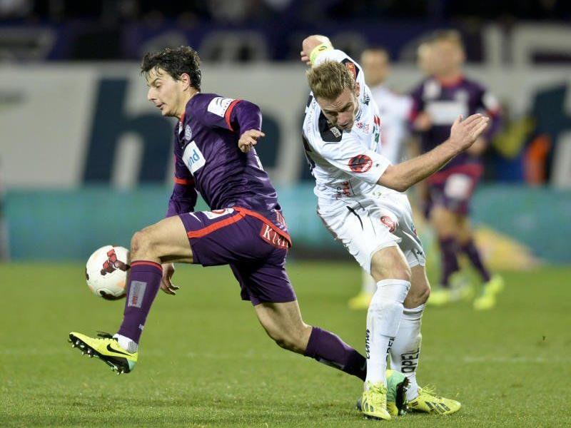 Die Austria konnte sich am Samstag gegen WAC durchsetzen.