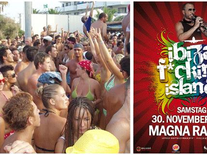 Das Ibiza F*cking Island lockt erneut mit zahlreichen Highlights ins Magna Racino