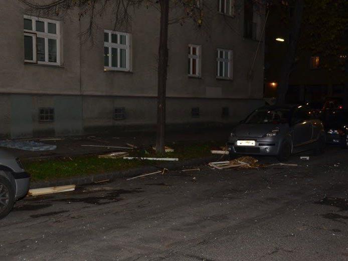 Ein Mann wurde bei einer Gasexplosion in Wien-Brigittenau verletzt.