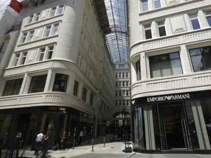Luxus pur in der Wiener Innenstadt - auch in Sachen Shop-Miete.