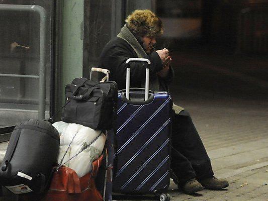 Besonders harte Zeit für Obdachlose: Der Winter.