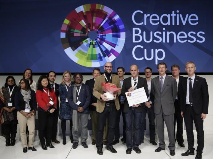 Das Vorarlberger Unternehmen Kairos erhielt den Sonderpreis der Jury beim Creative Business Cup in Kopenhagen.
