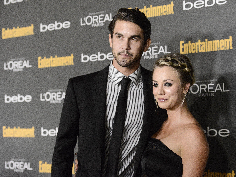Kaley Cuoca mit ihrem Verlobten Ryan Sweeting.