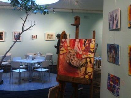 Im 5. Bezirk werden am Wochenende Kunstwerke gezeigt und zum Kauf angeboten.