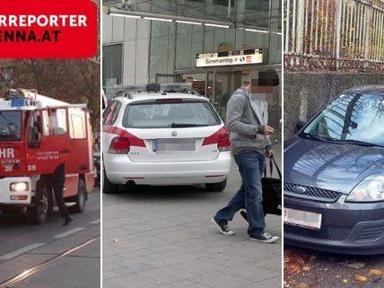 Oft sind die Leserreporter von VIENNA.AT zuerst vor Ort.