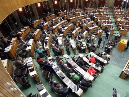 Der Nationalrat beginnt am Mittwoch mit der Arbeit