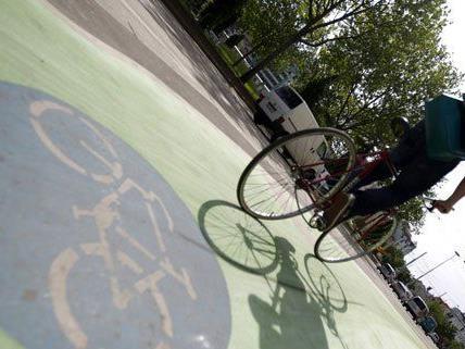 Grüne Radwege in Wien: Evaluierung der Teststrecken vor Abschluss