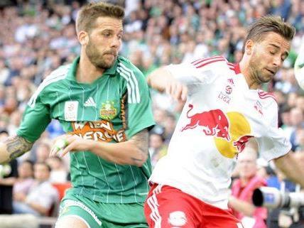 Rapid geht mit vollem Selbstvertrauen in die Partie gegen Salzburg.