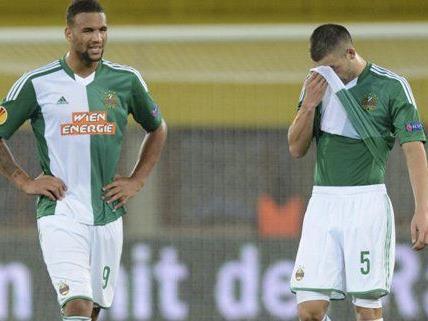 Rapid muss weiter auf den ersten Sieg in der Europa League warten.