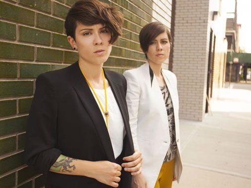 Tegan And Sara gastierten am Mittwoch live in Wien.