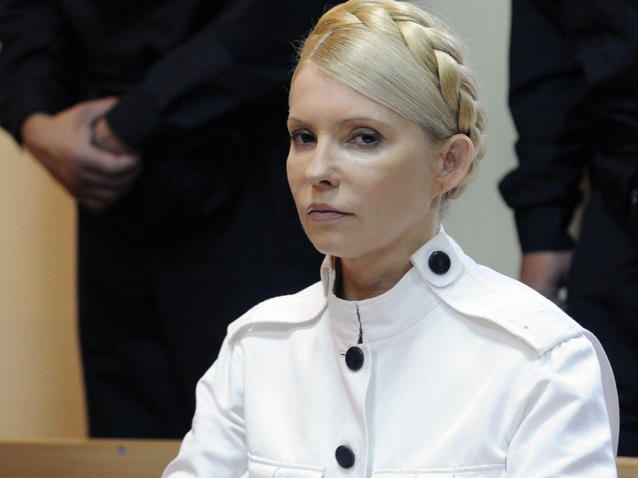 Die frühere ukrainische Ministerpräsidentin Julia Timoschenko bleibt weiterhin in ukrainischer Haft.
