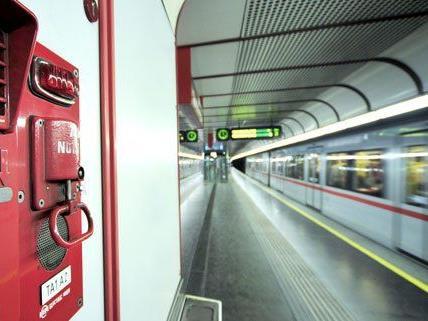 In der U1-Station Kaisermühlen kam es zur Festnahme.