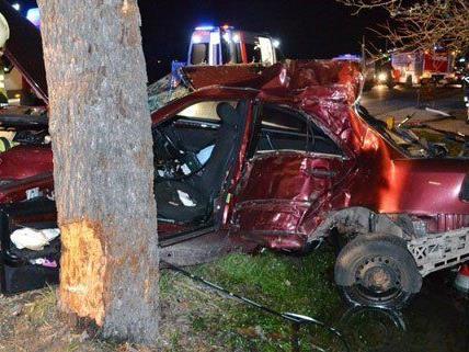Der Verkehrsunfall ereignete sich am Montagmorgen.