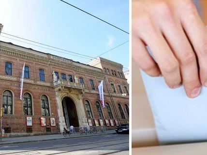 Am 26. September konnten Wahlberechtigte ihre Stimme an Nicht-Staatsbürger im Wiener WUK verschenken.