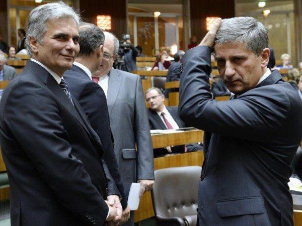 """Regierung sieht """"kein Budgetloch"""""""