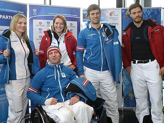 Olympia-Wäsche in Innsbruck vorgestellt