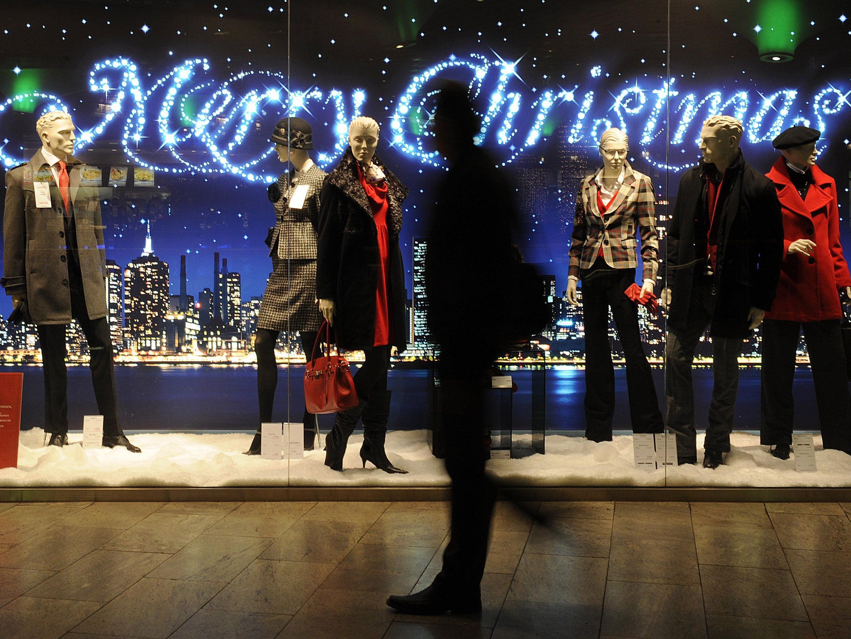 Das Weihnachtsgeschäft läuft für den handel noch bis Silvester.