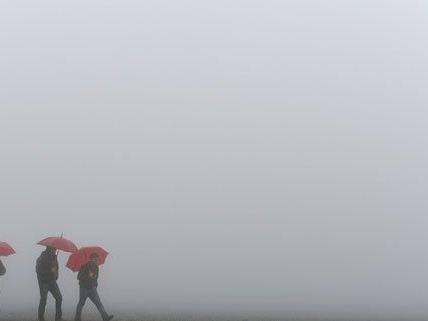 Nebeliges Wochenende in den Niederungen