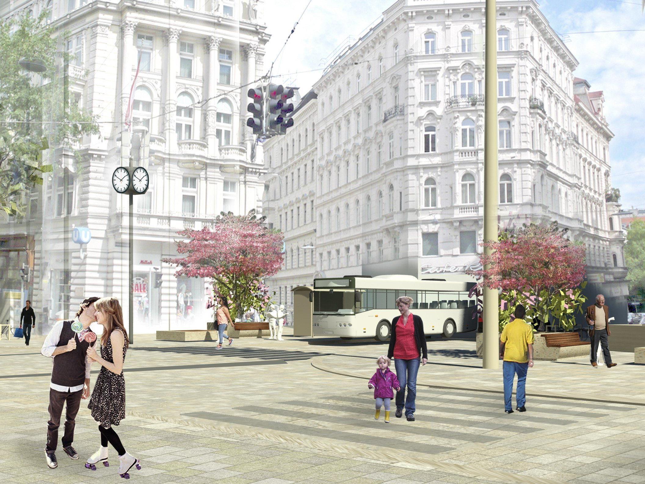 Die Befragung zur Mariahilfer Straße war auch Thema im Gemeinderat.