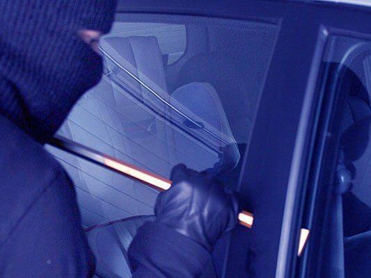 Ein Autoeinbrecher wurde in wieden geschnappt