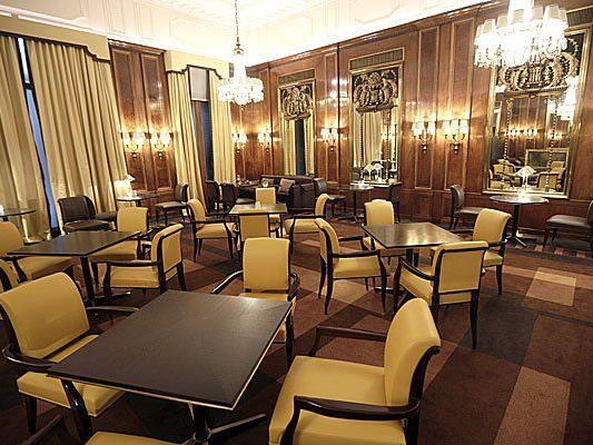 """Die neue """"Bristol Lounge"""" des Wiener Luxushotels Bristol"""