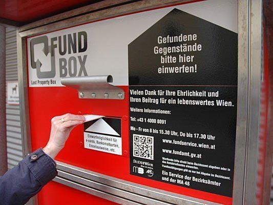 Die neuen Fundboxen werden auf den 19 Wiener Mistplätzen eingerichtet
