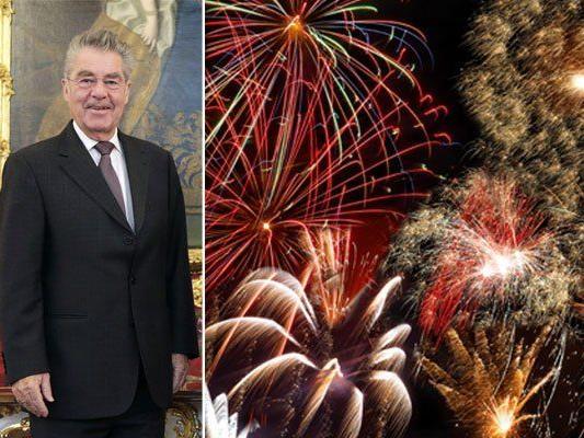 Wird Bundespräsident Heinz Fischer auf die Forderung nach einem Feuerwerk-Verbot reagieren?