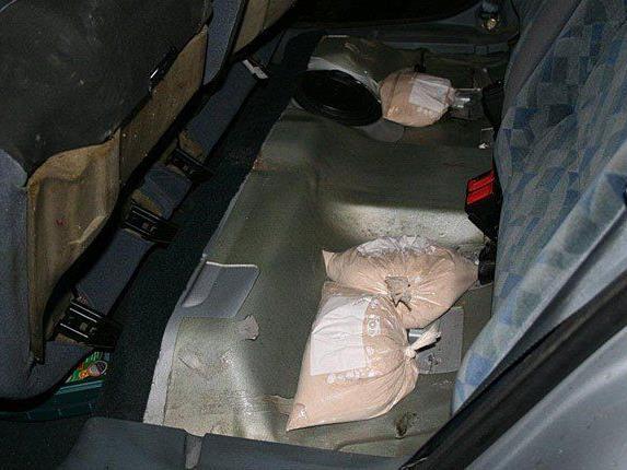 Die Bande hatte säckeweise Heroin im Wagen