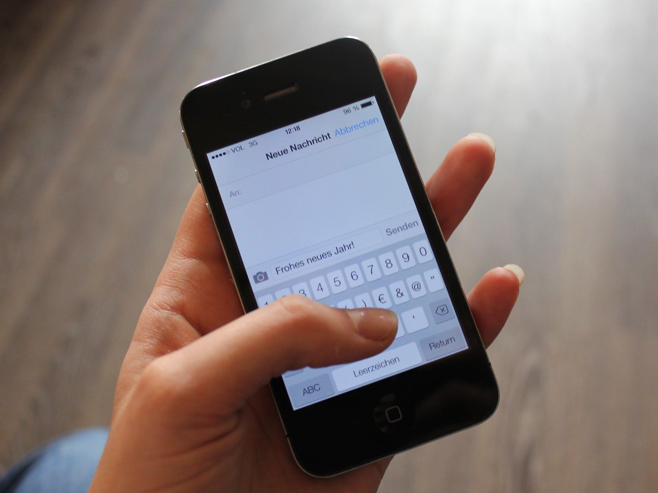 silvester sms