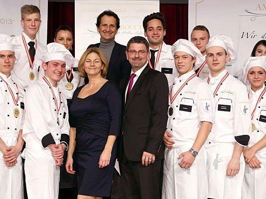 Auszeichnung für Lehrlinge aus ganz Österreich im Wiener Rathaus