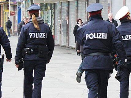 Die Polizei fasste eine Ladendiebin