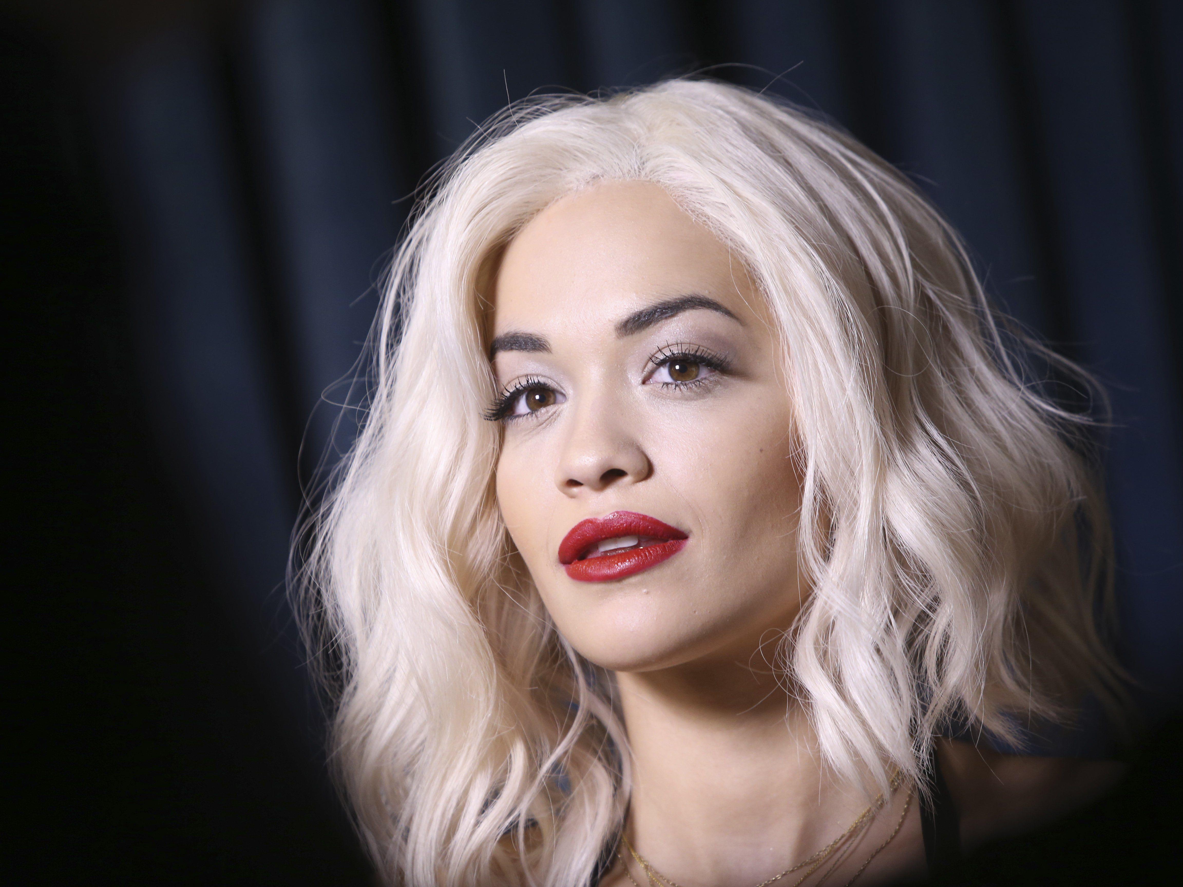Rita Ora spielt die Schwester der Hauptfigur Christian Grey.