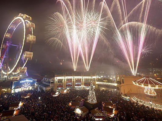 Alle Jahre wieder gut besucht: Der Silvesterpfad in der Wiener Innenstadt