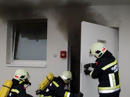 In Achau brannte der zentrale Heizraum eines Wohnhauses.