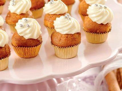Wichtig: Die Cupcakes müssen im Eiskasten aufbewahrt werden.