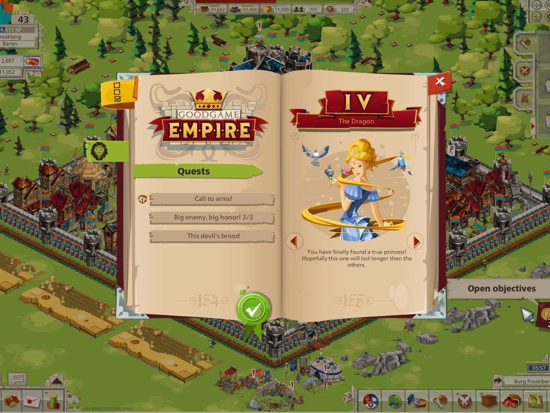 Errichte in Goodgames Empire dein eigenes Königreich.