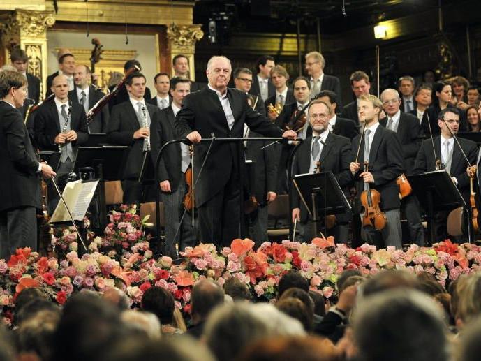 Große Generalrpobe im Wiener Musikverein.