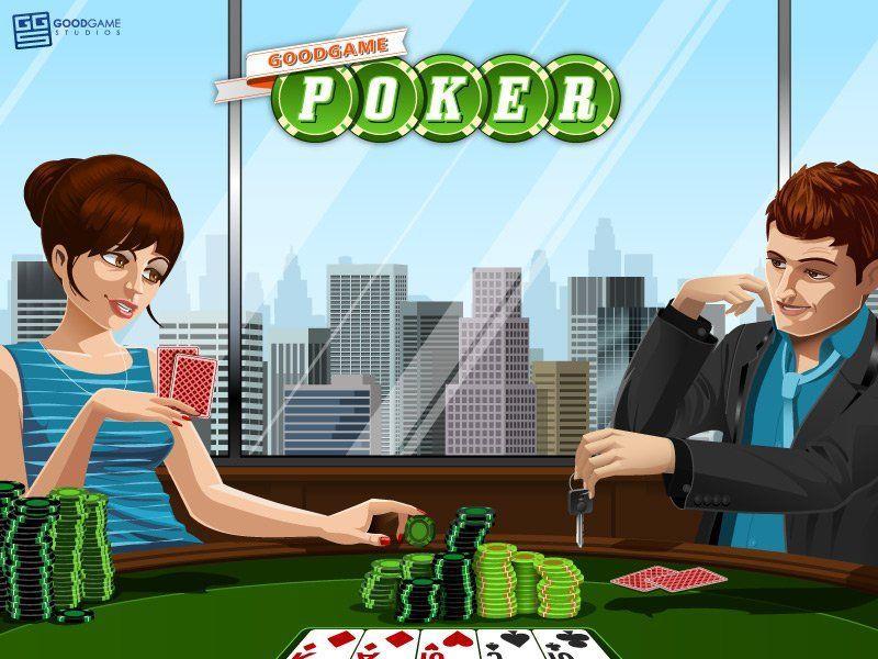Online-Pokern mit Goodgame Poker.