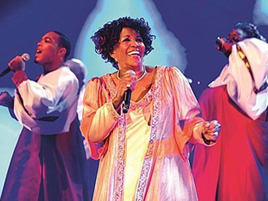 Queen Esther Marrow's Harlem Gospel Singers Show - im Jänner singen sie in Wien