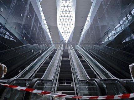 Mit dem Fortschritt der Bauarbeiten am Hauptbahnhof ist die Stadt zufrieden.