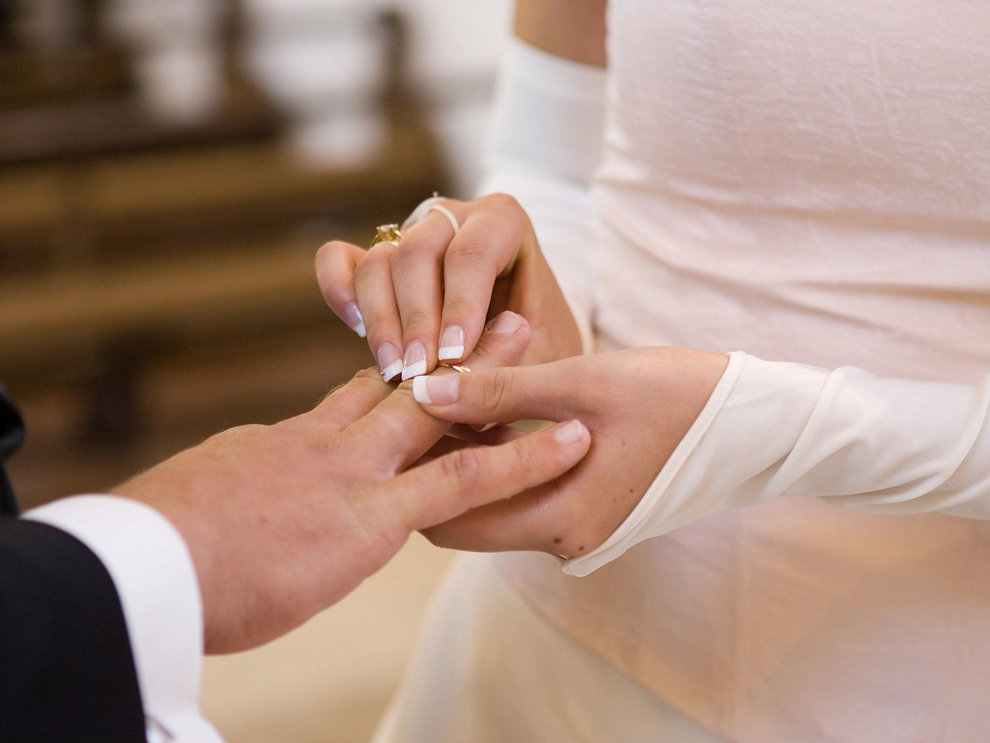 Im jahr 2013 wurde in Wien weniger geheiratet als noch im Jahr zuvor.