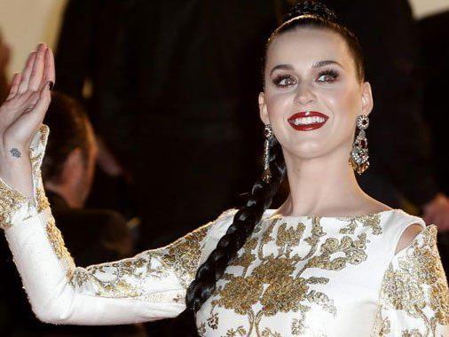 Eine strahlende Katy Perry als Gewinnerin des Abends.