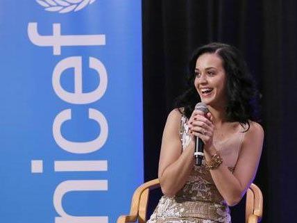 Katy Perry ist jetzt UNICEF-Botschafterin.