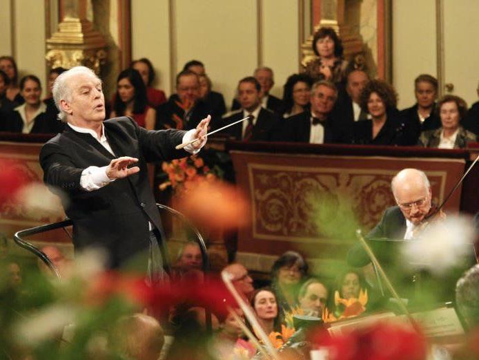 Dirigent Daniel Barenboim dirigiert wieder das Neujahrskonzert.