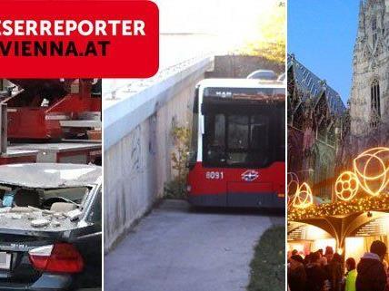 Ein Unfall, ein Hoppala und ein Weihnachtsmarkt: DIe besten Beiträge im November 2013.
