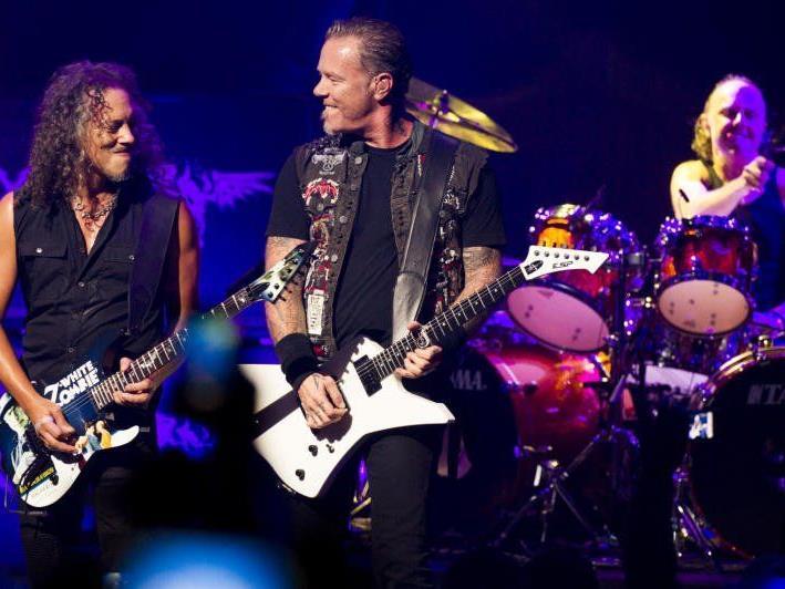 Metallica rocken im Sommer 2014 in Wien.