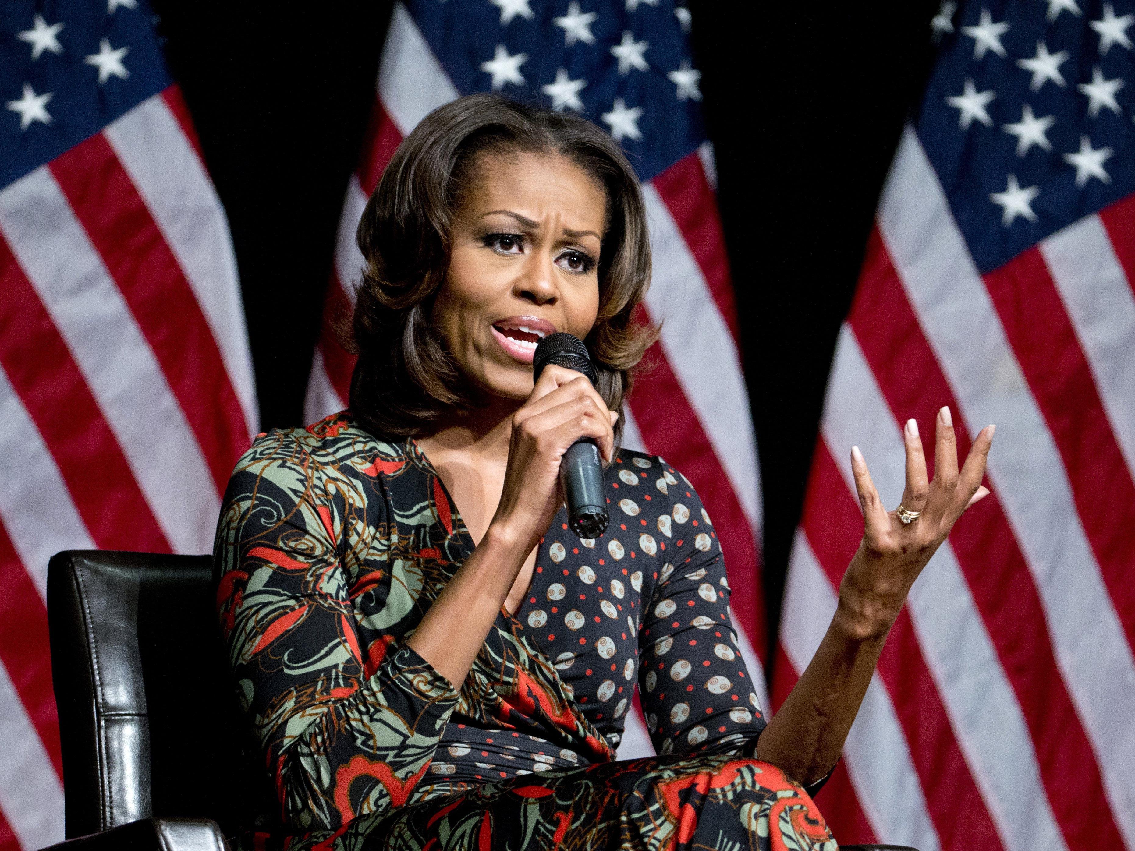 First Lady Michelle Obama will ihre Kinder vor Facebook schützen.
