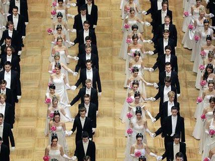 Großes Highlight am Opernball: Die Eröffnung.