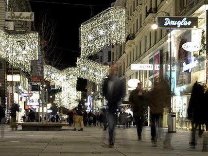 Am letzten Einkaufssamstag vor Weihnachten wurde nochmal tüchtig geshoppt.