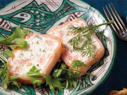 Dieses Gericht eignet sich als Vorspeise oder leichte Hauptspeise.